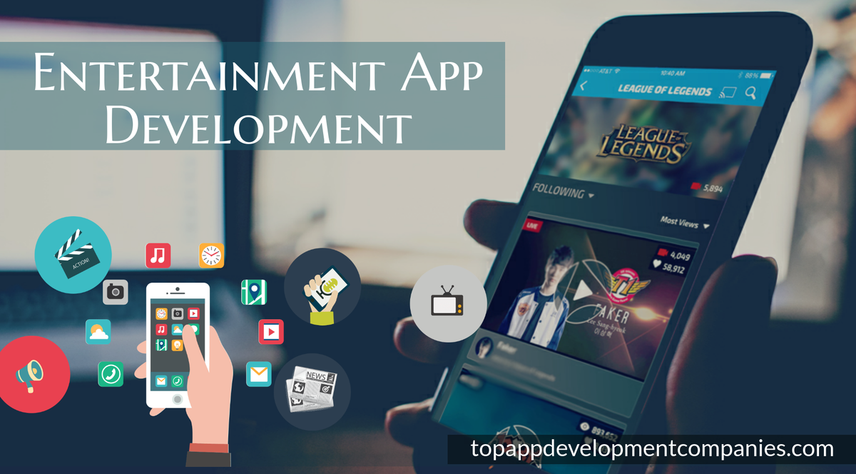 entertainment app development
