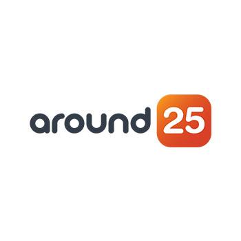 around25