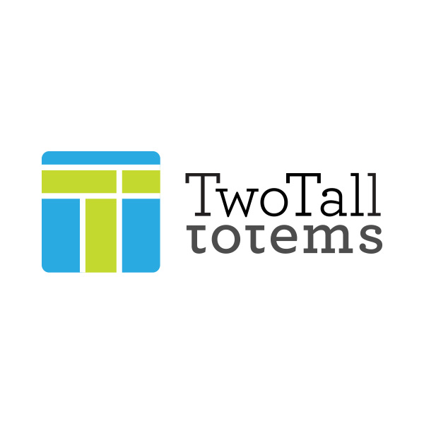 two tall totems