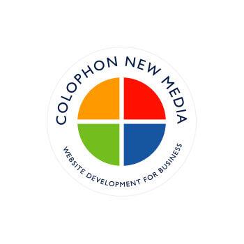 colophon new media