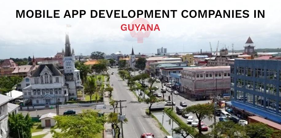 mobile app development company guyana