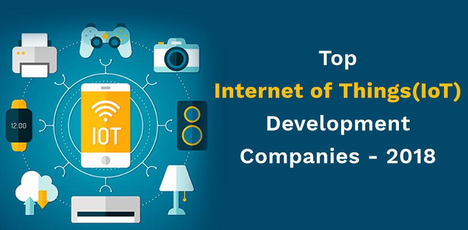 Top 10+ Internet of Things(IoT) App Development Companies in