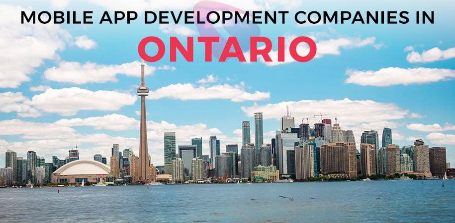mobile app development companies ontario