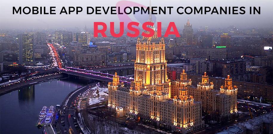 mobile app development companies russia