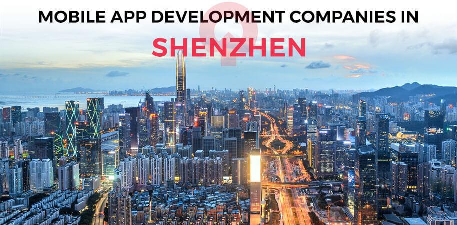mobile app development companies shenzhen