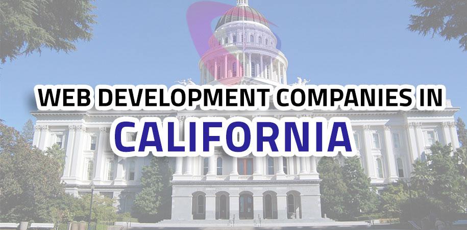 web development companies california