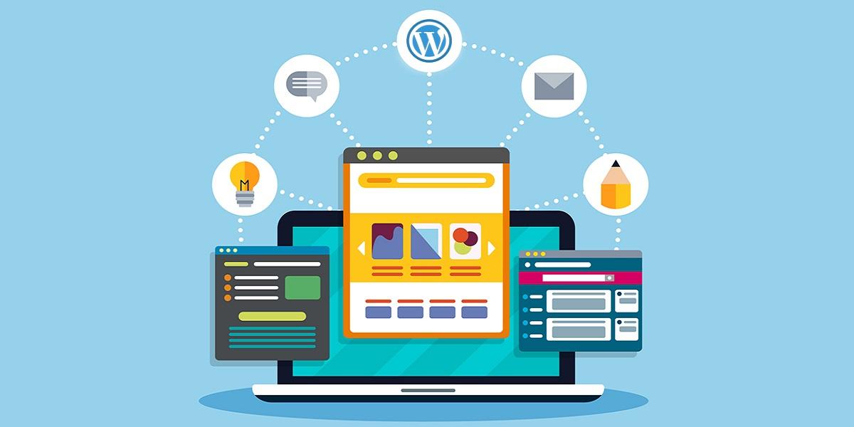 wordpress vs website