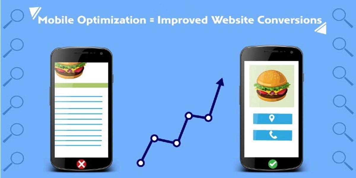 mobile optimization for website