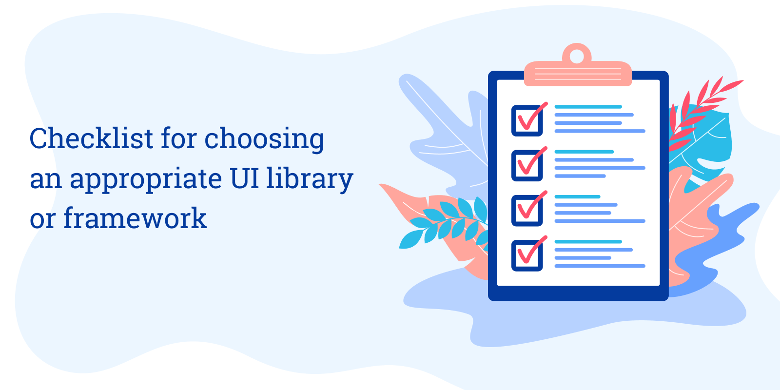 ui library or framework