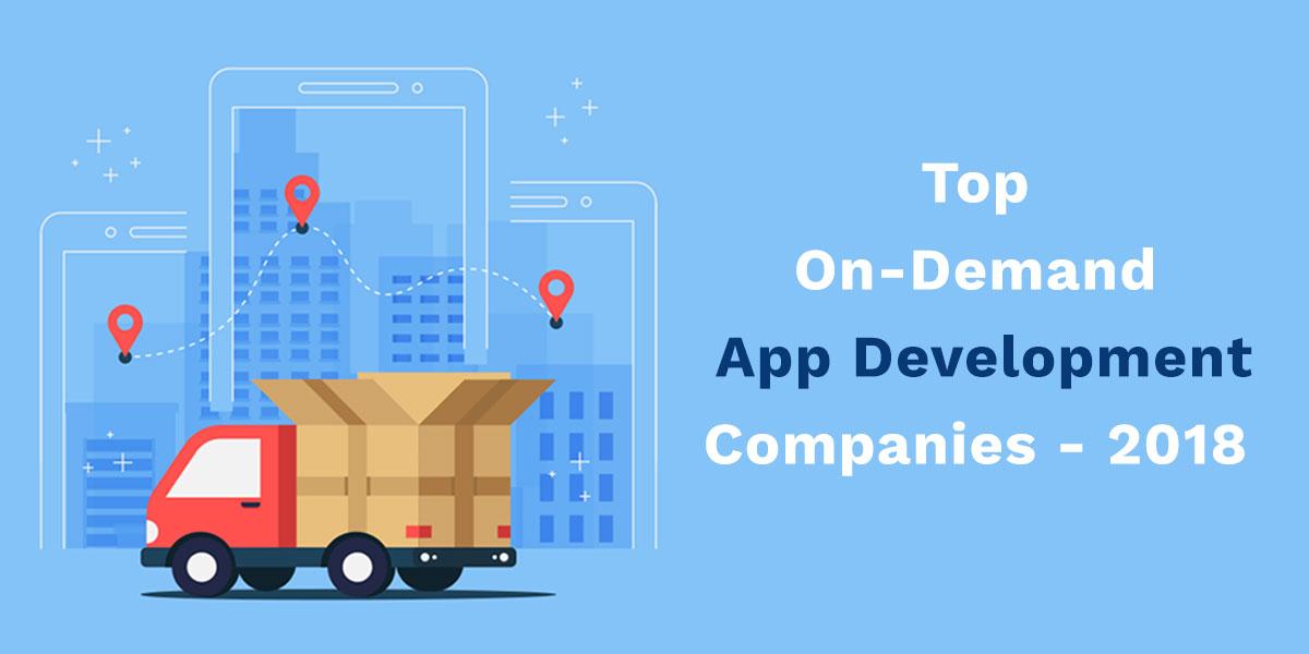 on demand app development companies