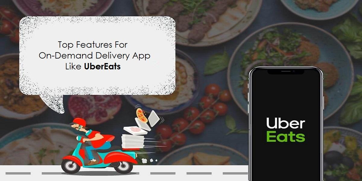 on-demand food app