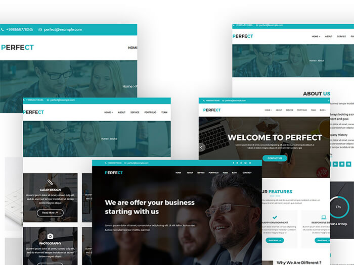 perfect corporate wordpress theme